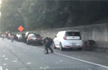 Door of truck carrying cash worth $175,000 opens on Atlanta Highway, People rush to collect money