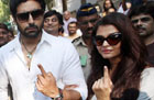 Lok Sabha polls: Mumbai votes, half-heartedly including celebrities