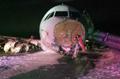 Air Canada Jet Skids Off Runway, 23 Injured