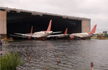 Cyclone Amphan leaves Kolkata Airport flooded, structures damaged