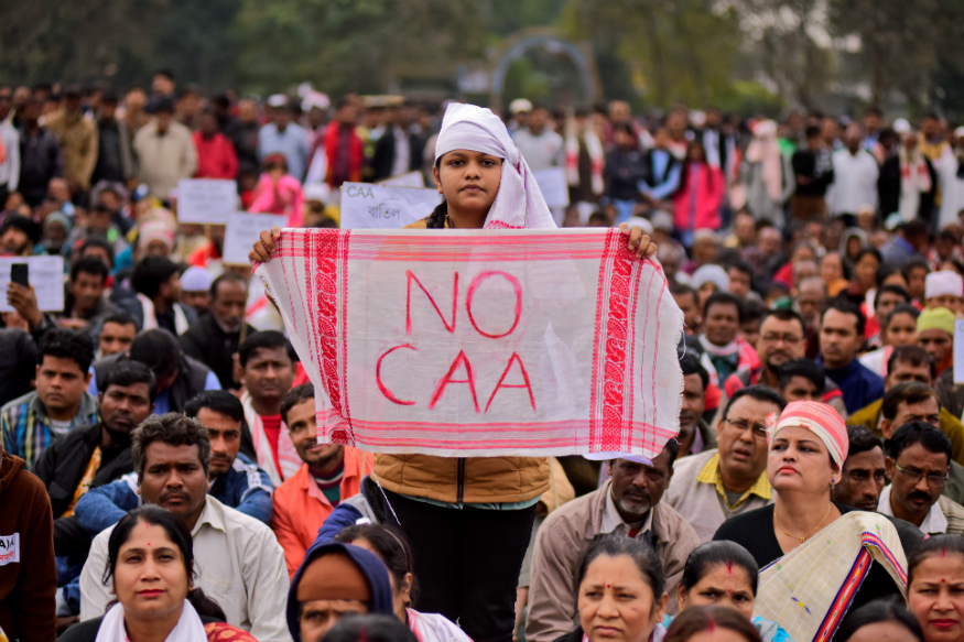 CAA copies burnt in bonfires during Assam�s �Bhogali Bihu� festival
