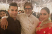 Diwali celebration; Inside the Bachchans� grand party with the Ambanis,SRK-Gauri and others