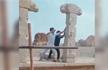 Men who damaged 16th century Hampi ruins made to re-erect pillars