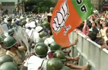 BJP workers lathicharged, 37 arrested for protesting against dengue menace in Kolkata