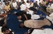 Puducherry Chief Minister sleeps on road outside Kiran Bedi's residence