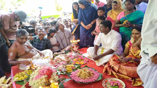 Cutting across religious lines Kerala mosque hosts Hindu wedding