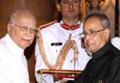 President presents Bharat Ratna and Padma Awards