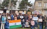 Protest in London, Paris, 16 other European cities against Delhi violence
