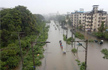 Mumbai rains: Flooded roads, submerged rail tracks