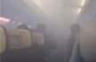 Passengers scream on Ryanair flight to Stansted as cabin suddenly fills with smoke