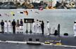 Rajnath Singh commissions second Scorpene-class submarine INS Khanderi in Mumbai