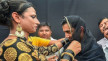 Gautam Gambhir Dresses as a Woman, Puts Bindi and Dupatta