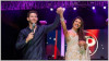 Nick Jonas performs live at his wedding reception