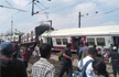 8 Injured as 2 trains collide at railway station in Hyderabad