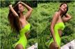 Vaani Kapoor Sizzles in a Neon Green Bikini