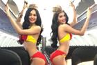 Bikini-clad airhostesses pose for VietJet ad campaign