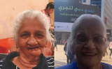 Dubai run on wheelchairs: Two elderly Indian women complete the challenge