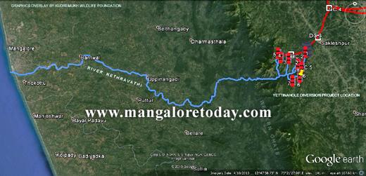 Niren Jain on Nethravathi River Diversion