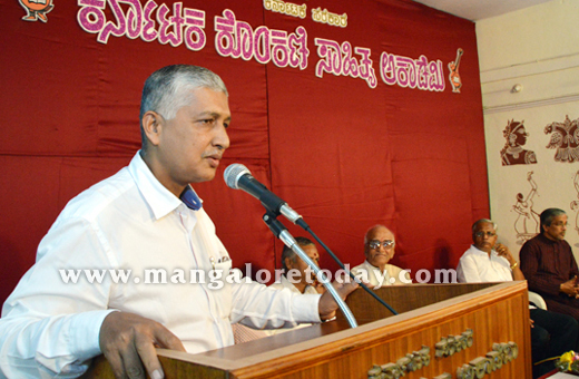 Roy Castelino new President of Konkani Sahitya Academy takes charge