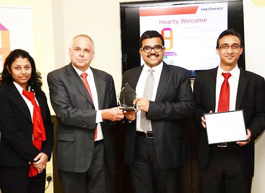 Dubai: UAE Exchange wins Deutsche Bank STP Excellence Award 9th