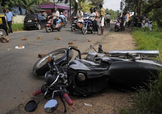 bike collide