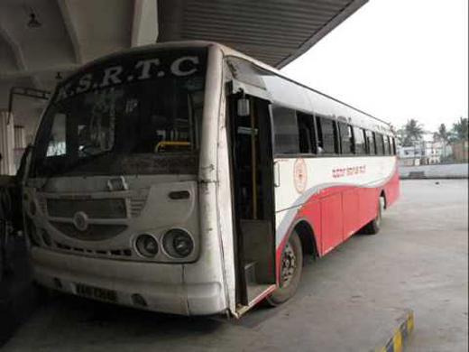 KSRTC bus mangalore
