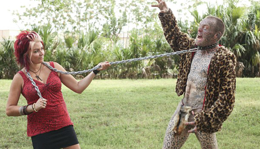Meet Larry Da Leopard, the man who turned himself into a