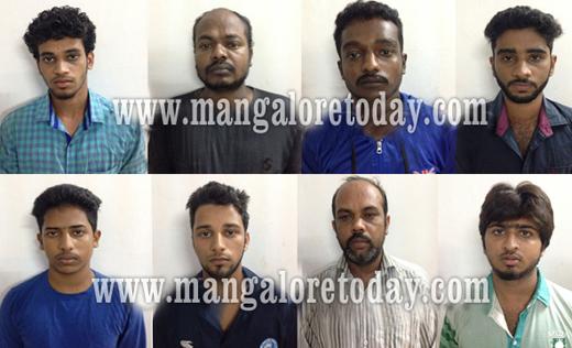 CCB cops nab 8 near Baikampady; foil murder plot