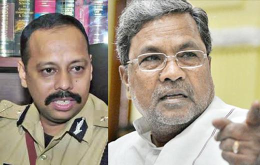 CM Siddaramaiah rebukes Mangaluru Police Commissioner S Murugan