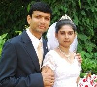 VINOD AND ANDREA SALDANHA,BANGALORE