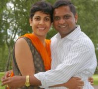 RAJ  FRANCIS & RESHMA,NOTTINGHAM,UK